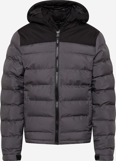INDICODE JEANS Between-Season Jacket 'Eberhardy' in Dark grey / Black, Item view