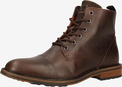 Auliniai batai su raišteliais iš BULLBOXER, spalva – ruda, Prekių apžvalga