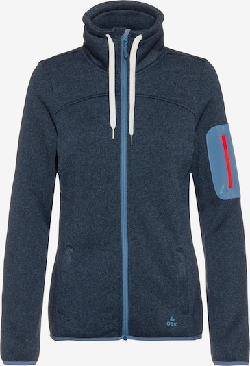 OCK Fleecejacke in navy, Produktansicht