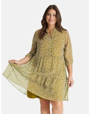 SAMOON Sommerkleid in Grün