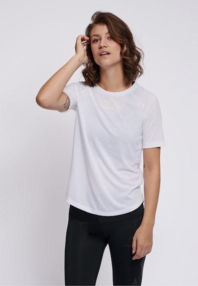 Hummel T-shirt S/S in weiß: Frontalansicht