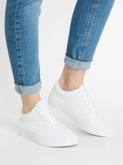 VANS Sneaker 'Old Skool' in weiß: Frontalansicht