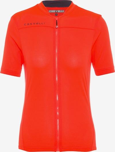 CASTELLI Funktionsshirt 'Anima 3' in orange / schwarz, Produktansicht