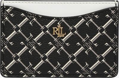 Lauren Ralph Lauren Θήκη σε γκρι / μαύρο / λευκό, Άποψη προϊόντος
