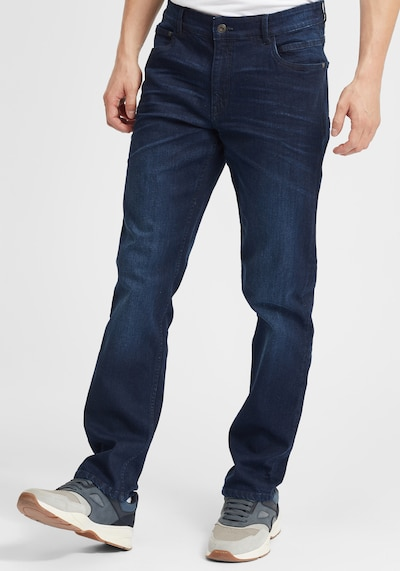 !Solid Jeans 'Finlay' in blau, Modelansicht