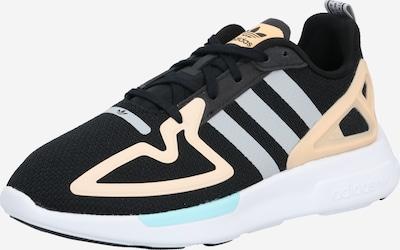 ADIDAS ORIGINALS Sneaker 'Flux' in grau / apricot / schwarz, Produktansicht