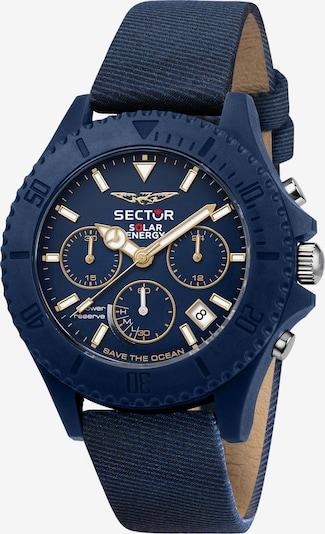 SECTOR Analoog horloge 'SAVE THE OCEAN' in de kleur Blauw / Goud / Wit, Productweergave