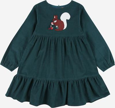 STACCATO Šaty - hnedá / tmavozelená / červená / biela, Produkt
