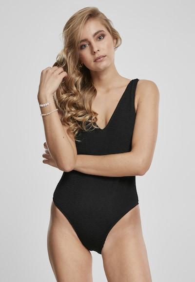 Urban Classics Jednodijelni kupaći kostim u crna, Prikaz modela