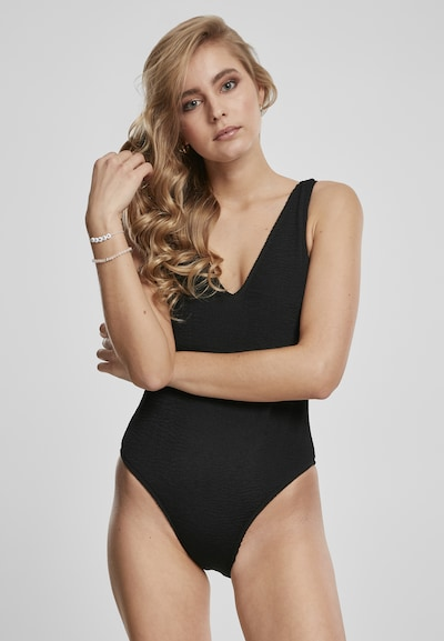 Urban Classics Jednodielne plavky - čierna, Model/-ka
