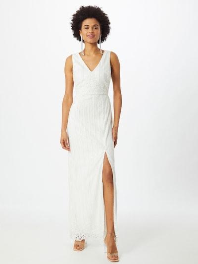 Chi Chi London Kleid 'Anna' in weiß, Modelansicht