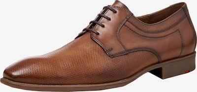 LLOYD Cipele na vezanje u konjak: Prednji pogled