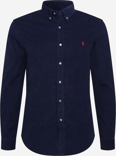 POLO RALPH LAUREN Hemd in navy / rot, Produktansicht