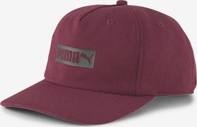 PUMA Sportcap in grau / weinrot, Produktansicht