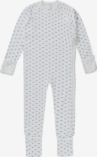 SANETTA Nachtkledij in de kleur Blauw / Wit, Productweergave