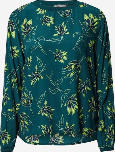 MINE TO FIVE Bluse in dunkelblau / gelb / dunkelgrün, Produktansicht