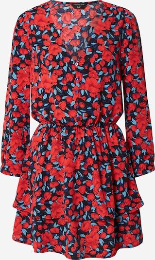 Colourful Rebel Kleita 'Ivy Roses', krāsa - tumši zils / karaliski zils / sarkans, Preces skats