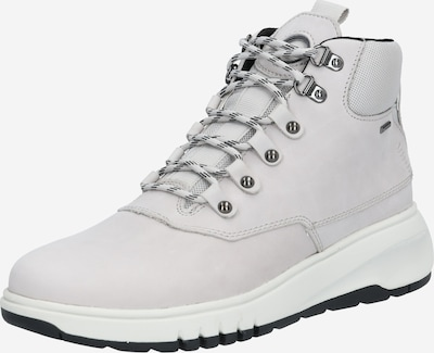 Suvarstomieji kulkšnis dengiantys batai iš GEOX , spalva - šviesiai pilka, Prekių apžvalga