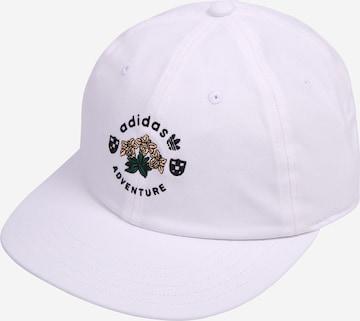 ADIDAS ORIGINALS Nokamüts 'ADVENTURE VINT', värv valge