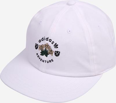 ADIDAS ORIGINALS Casquette 'ADVENTURE' en mastic / vert foncé / noir / blanc, Vue avec produit