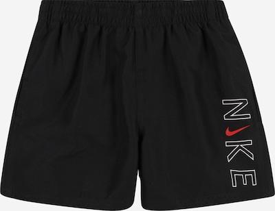 Nike Swim Maillot de bain de sport en rouge / noir / blanc, Vue avec produit