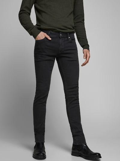 JACK & JONES Jeans 'Liam' in schwarz, Modelansicht