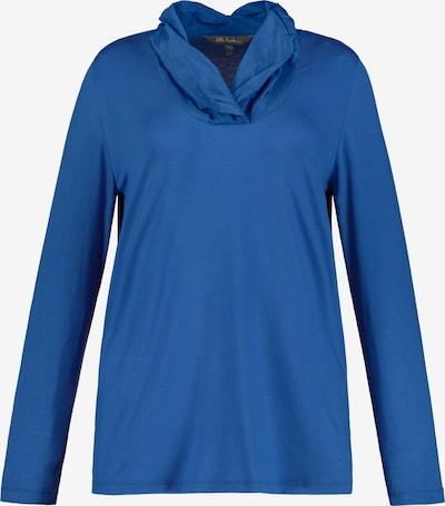 Ulla Popken Ulla Popken Damen große Größen Shirt 727399 in blau: Frontalansicht