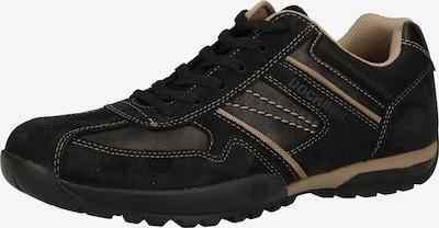 Sneaker low Dockers by Gerli pe maro deschis / negru, Vizualizare produs