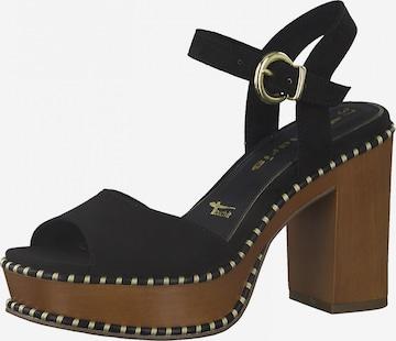 Sandales TAMARIS en noir