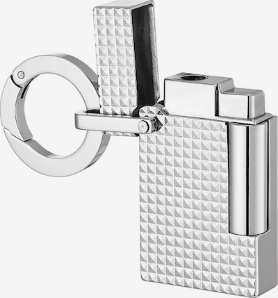 S.T. DUPONT Schlüsselanhänger in silber, Produktansicht