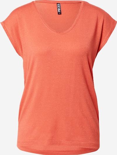 Maglietta 'Billo' PIECES di colore arancione scuro, Visualizzazione prodotti
