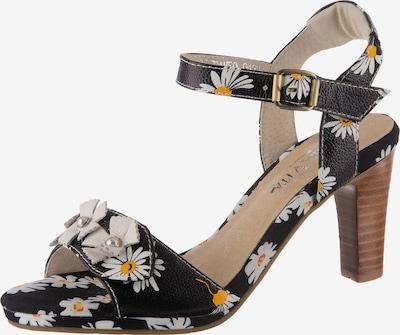 Laura Vita Alcbaneo 44 Klassische Sandaletten in schwarz, Produktansicht