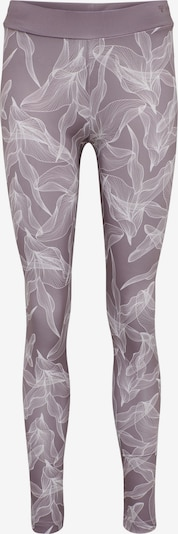 Hummel Tights in lila / weiß, Produktansicht