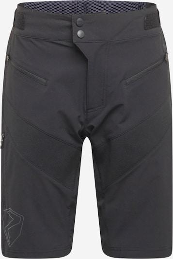 ZIENER Pantalón de montaña en negro / blanco, Vista del producto