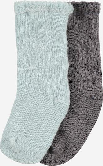 LILIPUT Chaussettes en gris foncé / menthe, Vue avec produit