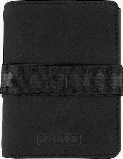 OXMOX Kreditkartenetui in schwarz, Produktansicht