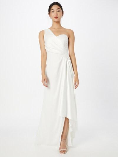 Rochie de seară 'Tasha' Chi Chi London pe alb, Vizualizare model