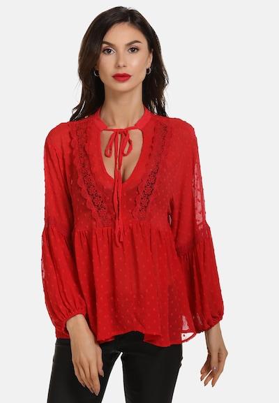 faina Bluse 'Faina' in rot, Modelansicht