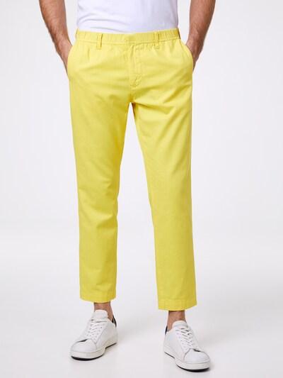 PIERRE CARDIN Chino 'lyon' in gelb: Frontalansicht