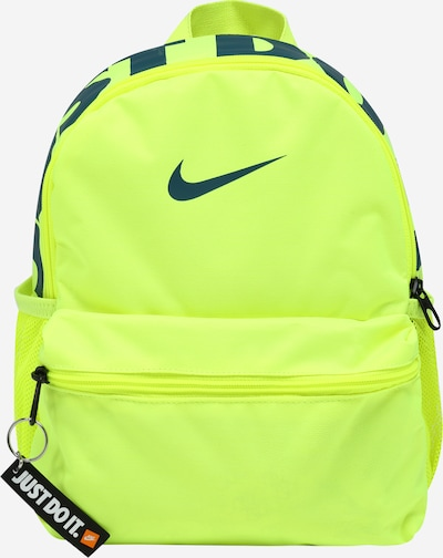 Nike Sportswear Mochila 'Brasilia JDI' en esmeralda / verde neón, Vista del producto