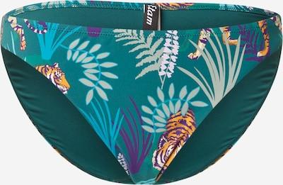 ETAM Bikiinipüksid 'AMOUR' petrooleum / segavärvid, Tootevaade