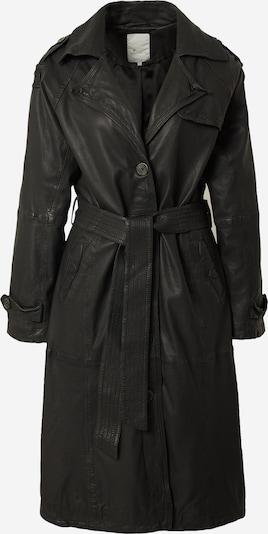 Palton de primăvară-toamnă 'Slouchy' Goosecraft pe negru, Vizualizare produs