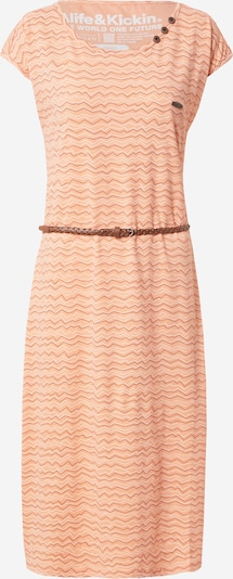 Alife and Kickin Kleid 'Melli' in pfirsich / burgunder / weiß, Produktansicht