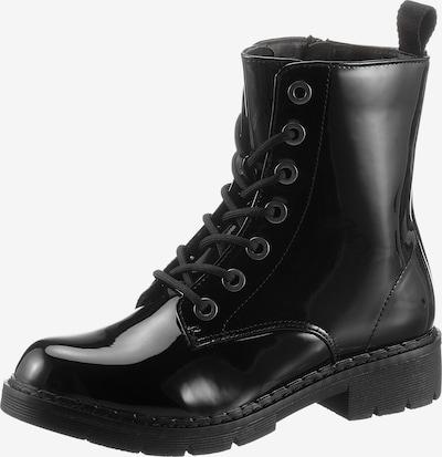 CITY WALK Schnürstiefelette in schwarz, Produktansicht