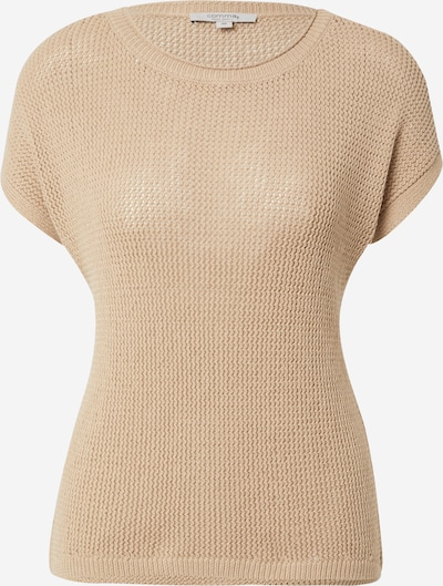 comma casual identity Pullover in dunkelbeige, Produktansicht