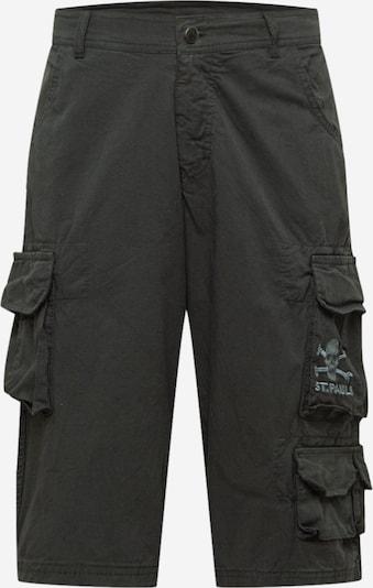 Pantaloni cu buzunare FC St. Pauli pe gri / negru, Vizualizare produs