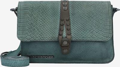 Taschendieb Wien Umhängetasche 'Friedensbrücke' in jade, Produktansicht