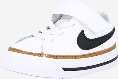 Nike Sportswear Sneakers 'Court Legacy' in de kleur Donkerblauw / Lichtbruin / Wit, Productweergave