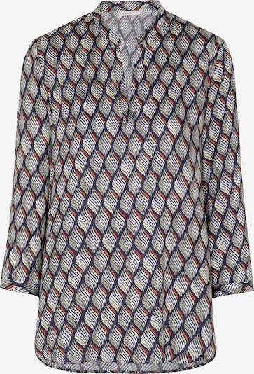 ETERNA Blouse in de kleur Donkerblauw / Geel / Wit, Productweergave