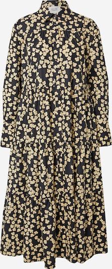 SECOND FEMALE Kleid 'Alula' in gelb / schwarz, Produktansicht